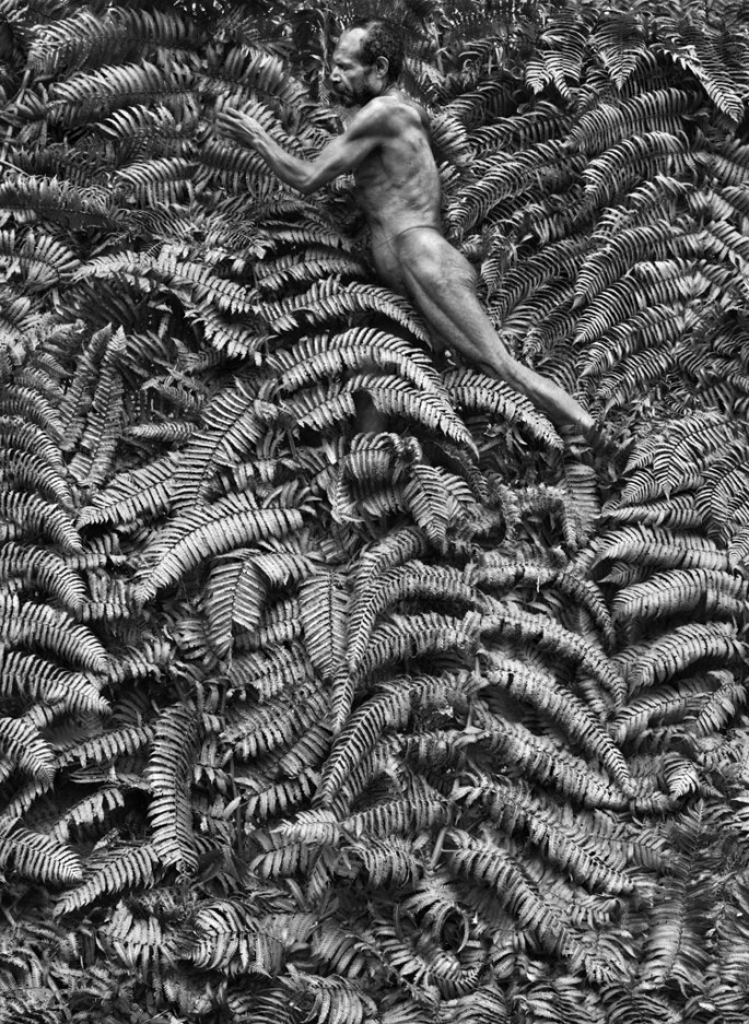 Sebasti&amp;#227;o Salgado, </span><span><em>Yali men spend most of their time hunting in the forest where they also collect insects, fruit and vegetables</em>, </span><span>&lt;br /&gt; West Papua, Indonesia, 2010 &amp;amp;#169 Sebasti&amp;#227;o Salgado / Amazonas images