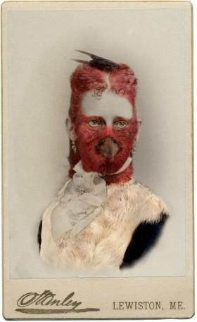 Sara Angelucci, </span><span><em>Aviary (Red-headed Woodpecker/endangered)</em>, </span><span>2013