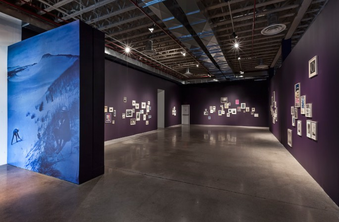 Installation view, </span><span><em>Collected Shadows</em>, </span><span>at the Museum of Contemporary Canadian Art, 2013  Toni Hafkenschied