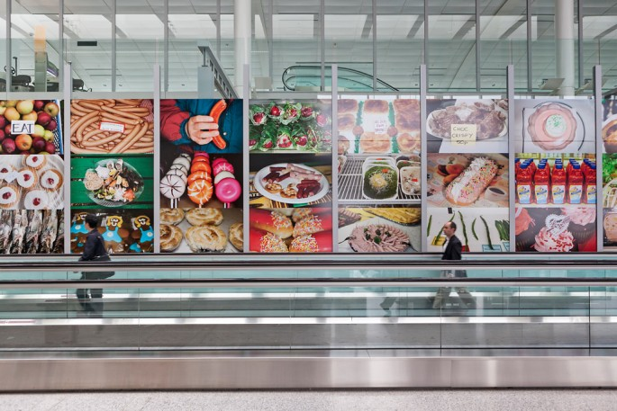Martin Parr, </span><span><em>Food</em>, </span><span> Image credit Toni Hafkenscheid