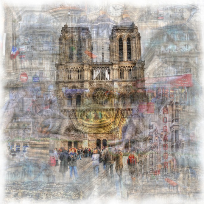 Christopher Cabral, </span><span><em>ParisScape 3</em>, </span><span>2008
