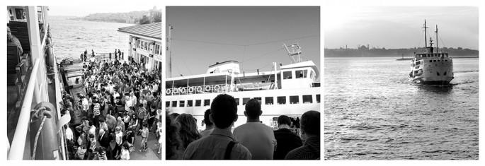 Ferit Onurlu, </span><span><em>Daily trip between continents by ferries</em>, </span><span>2013