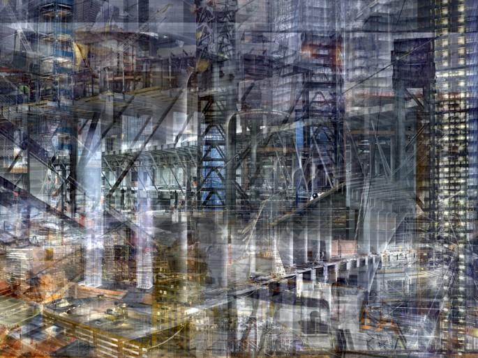 Shai Kremer, </span><span><em>World Trade Centre: Concrete Abstract No. 16</em>, </span><span>2013