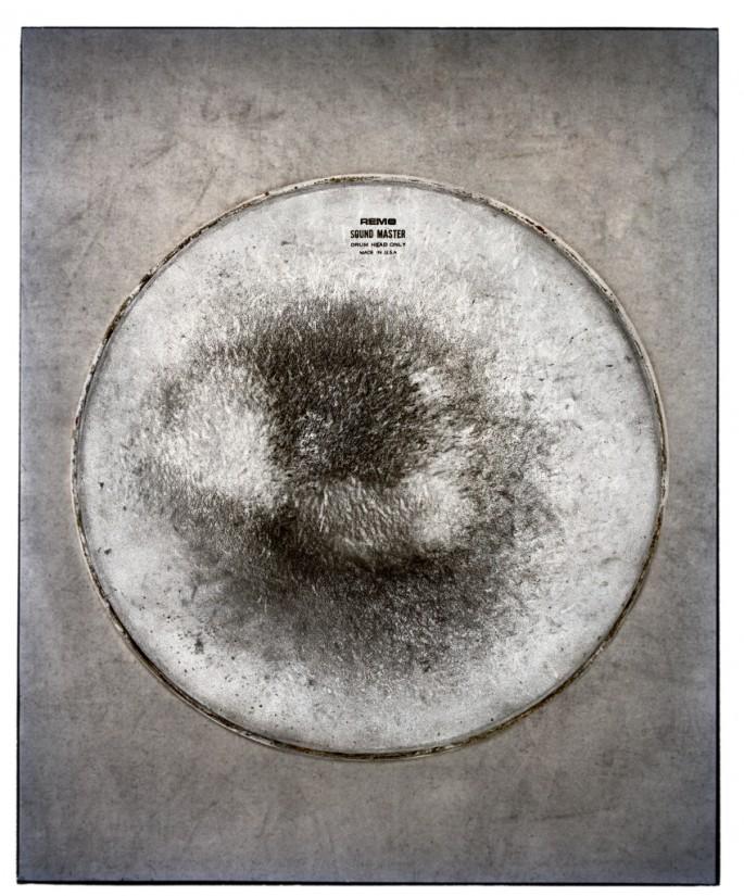 Jamie Kronick, </span><span><em>Drum Skin VI</em>, </span><span>2011