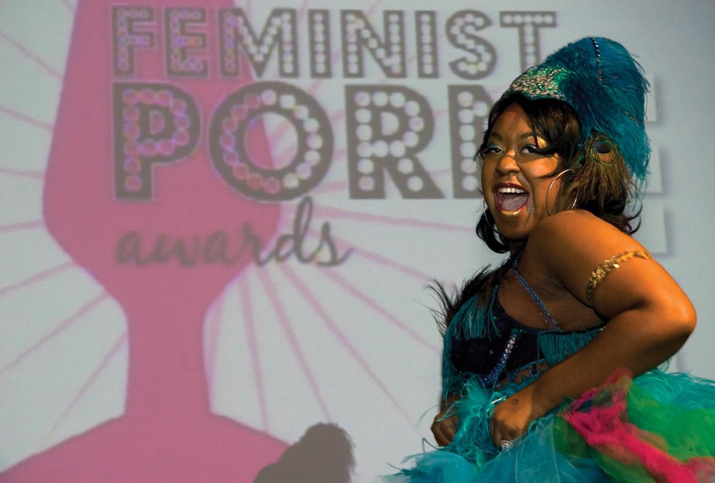 <em>CoCo LaCreme Feminist Porn Awards Performance, 2009</em>, </span><span> Marc S. Bonham Centre for Sexual Diversity Studies Sexual Representation Collection