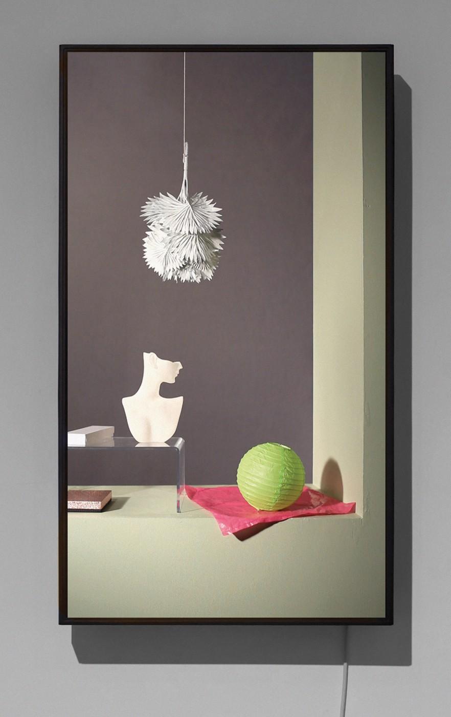 Owen Kydd, </span><span><em>Canvas Leaves, Torso and Lantern</em>, </span><span>2011 Courtesy of the artist