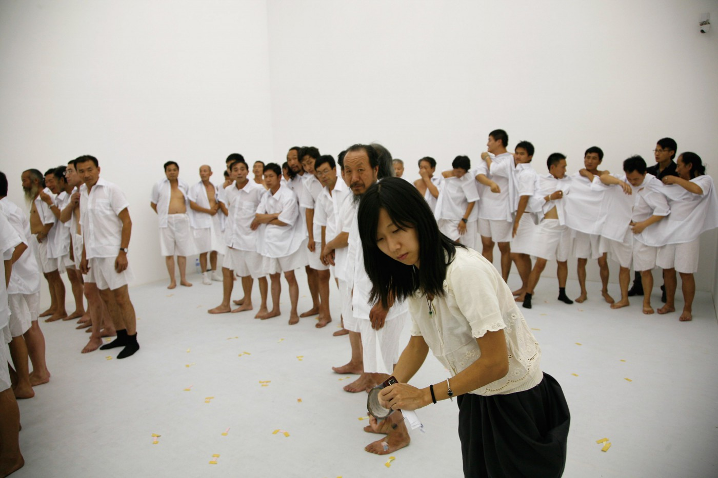 Ma Qiusha, </span><span><em>Us</em>, </span><span>video still, 2010