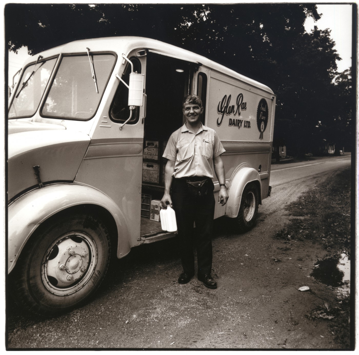 Neil Newton, </span><span><em>The Milkman</em>, </span><span>1973
