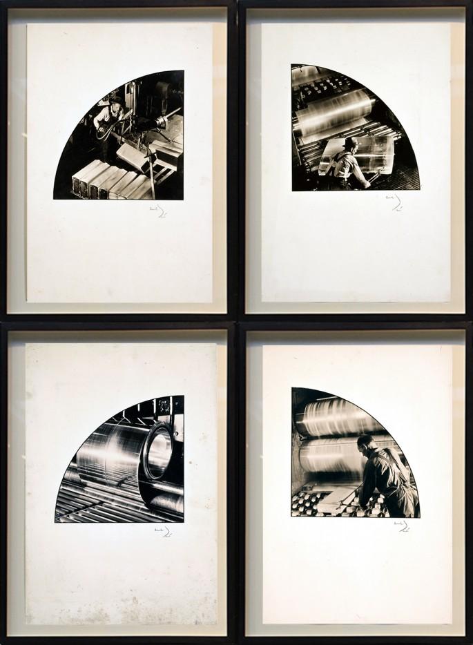 Margaret Bourke-White, </span><span><em>Aluminum Comapny of America (M1-M4)</em>, </span><span>1934