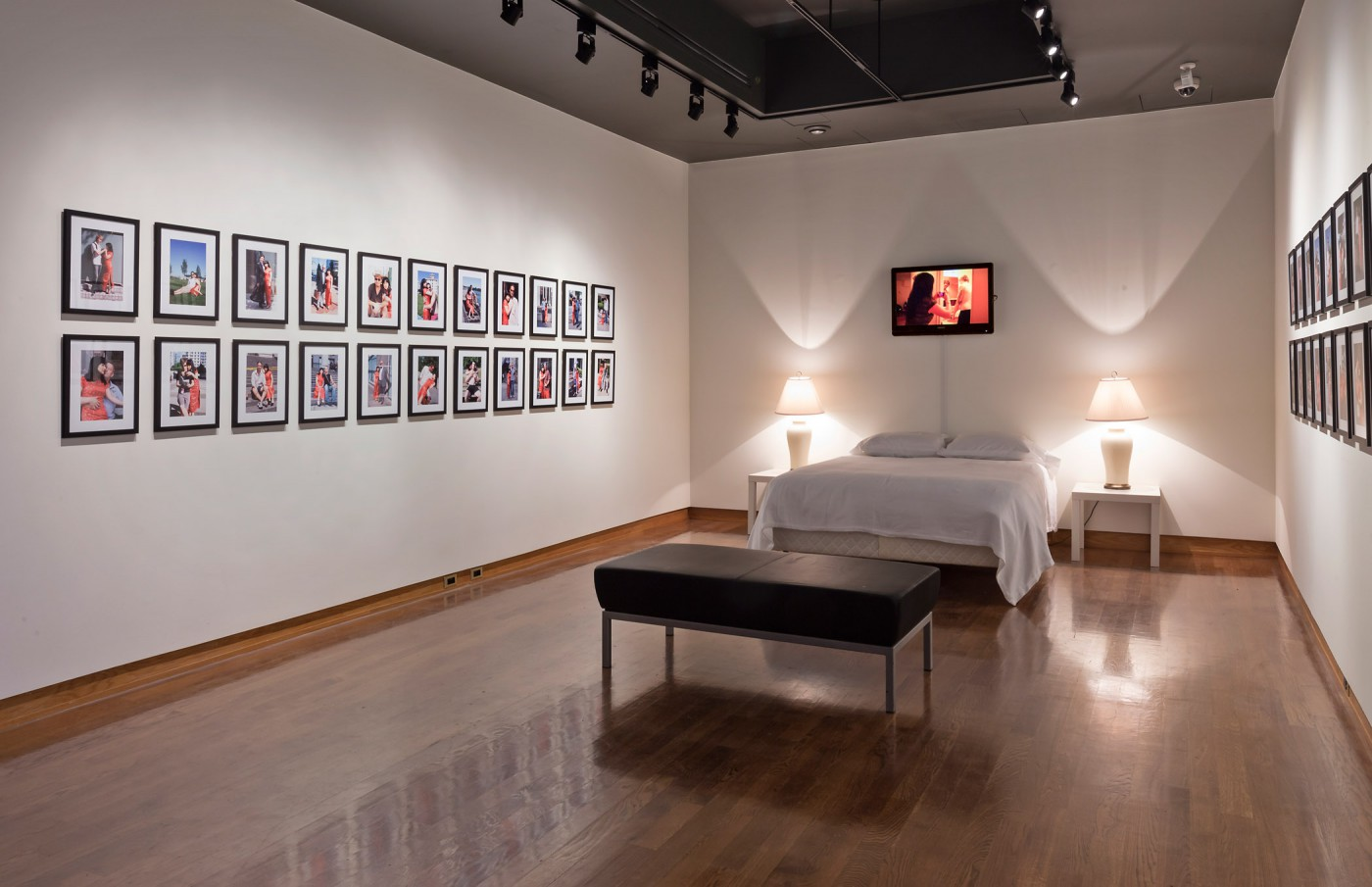 Installation view of, </span><span><em>Through The Body: Lens-Based Works by Contemporary Chinese Women Artists</em>, </span><span> © Toni Hafkenscheid