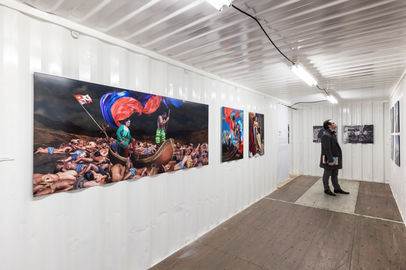 Installation view, </span><span><em>Pictures from Paradise: A Survey of Contemporary Caribbean Photography</em>, </span><span> Photo © Toni Hafkenscheid