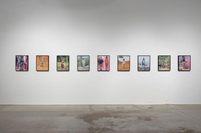 Installation view, </span><span><em>Material Self</em>, </span><span>Namsa Leuba Photo: Toni Hafkenscheid
