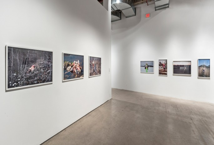 Installation view, </span><span><em>Material Self</em>, </span><span>Dominique Rey Photo: Toni Hafkenscheid