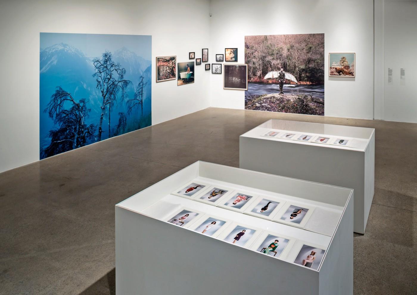 Installation view, </span><span><em>Material Self</em>, </span><span>Tomoko Sawada, David Favrod Photo: Toni Hafkenscheid