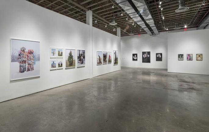 Installation view, </span><span><em>Material Self</em>, </span><span>Charles Fréger, Hendrik Kerstens, Namsa Leuba Photo: Toni Hafkenscheid