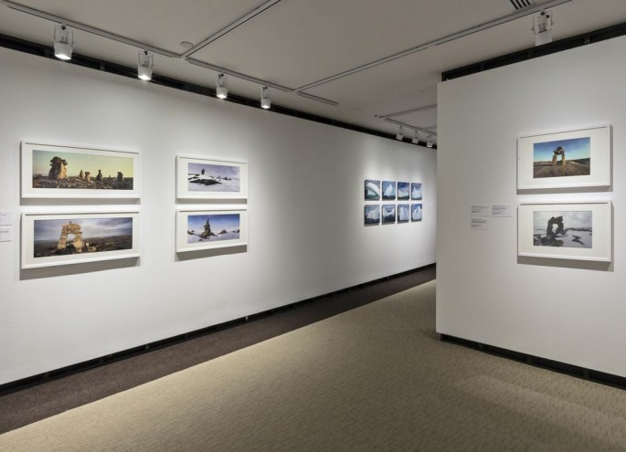 Installation view, </span><span><em>Arctic Exposure: Photographs of Canada's North</em>, </span><span>Norman Hallendy, Jimmy Manning Photo © Toni Hafkenscheid