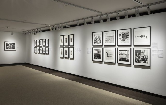 Installation view, </span><span><em>Arctic Exposure: Photographs of Canada's North</em>, </span><span>Richard Harrington Photo © Toni Hafkenscheid