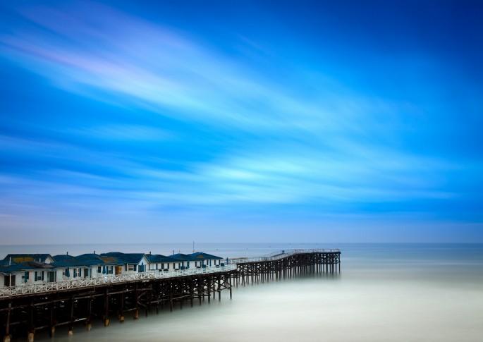 Mark Brodkin, </span><span><em>Blue Pier</em>, </span><span>2012