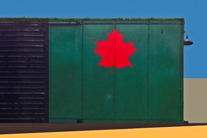 L. E. Glazer, </span><span><em>Boxcar Green</em>, </span><span>2014
