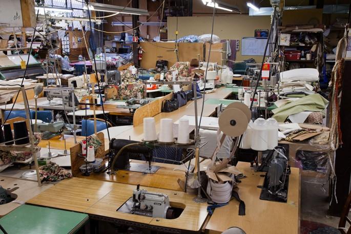 Benjamin Rondel, </span><span><em>upholstery factory, Toronto</em>, </span><span>2012