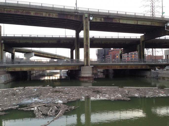 Shawn Micallef, </span><span><em>The Don River will not behave.</em>, </span><span>2014