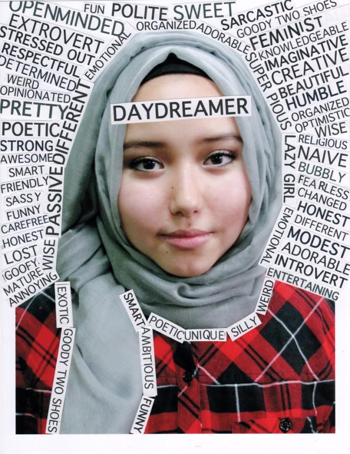 Portrait Words, </span><span><em>Asma Karimi (Truth &amp;amp; Dare Project)</em>, </span><span>2014