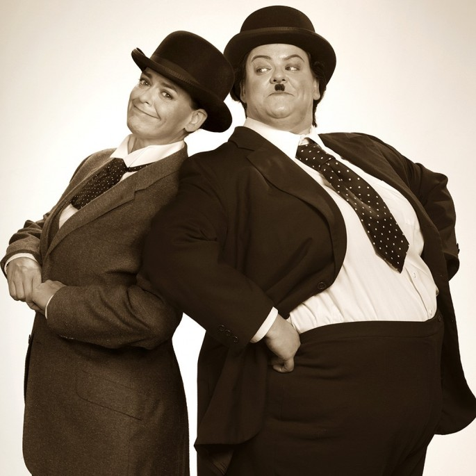 Blake Morrow, </span><span><em>Laurel and Hardy Beth</em>, </span><span>2014