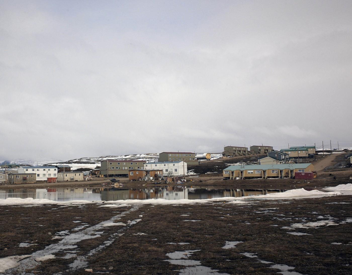 Philip Jessup, </span><span><em>Early Melt in Pond Inlet, Baffin Island</em>, </span><span>2007
