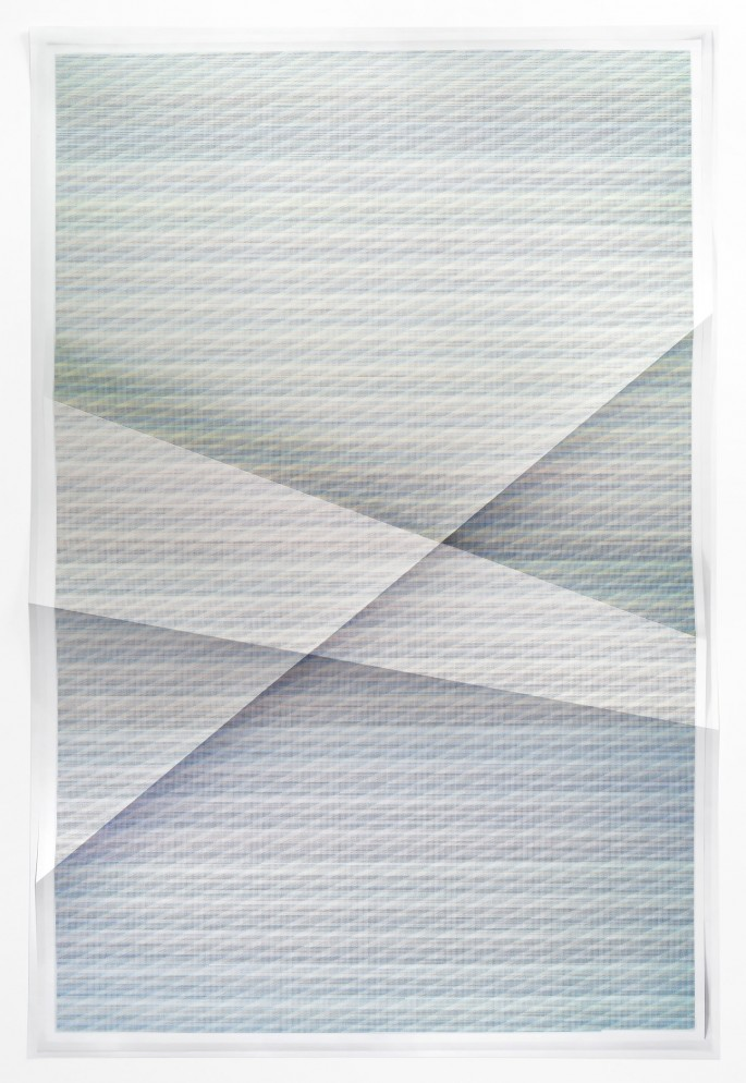 John Houck, </span><span><em>Untitled #330, 456, 975 combnations of a 2x2 grid, 25 colours, (from Aggregates series)</em>, </span><span>2014 Courtesy of the artist and American Contemporary, New York