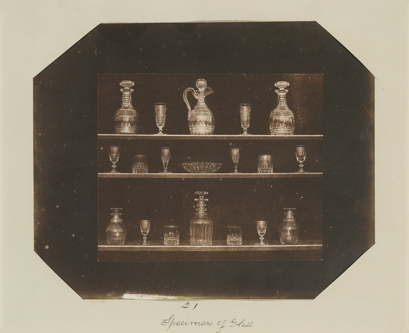 William Henry Fox Talbot, </span><span><em>Articles of Glass</em>, </span><span>before January 1844. National Gallery of Canada, Ottawa