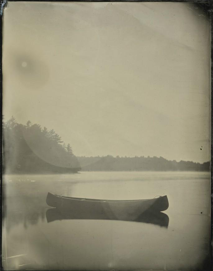 Curtis Wehrfritz, </span><span><em>Lost Canoe Sunspot</em>, </span><span>2013