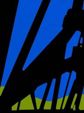 L. E. Glazer, </span><span><em>Trestle No. 10</em>, </span><span>2015