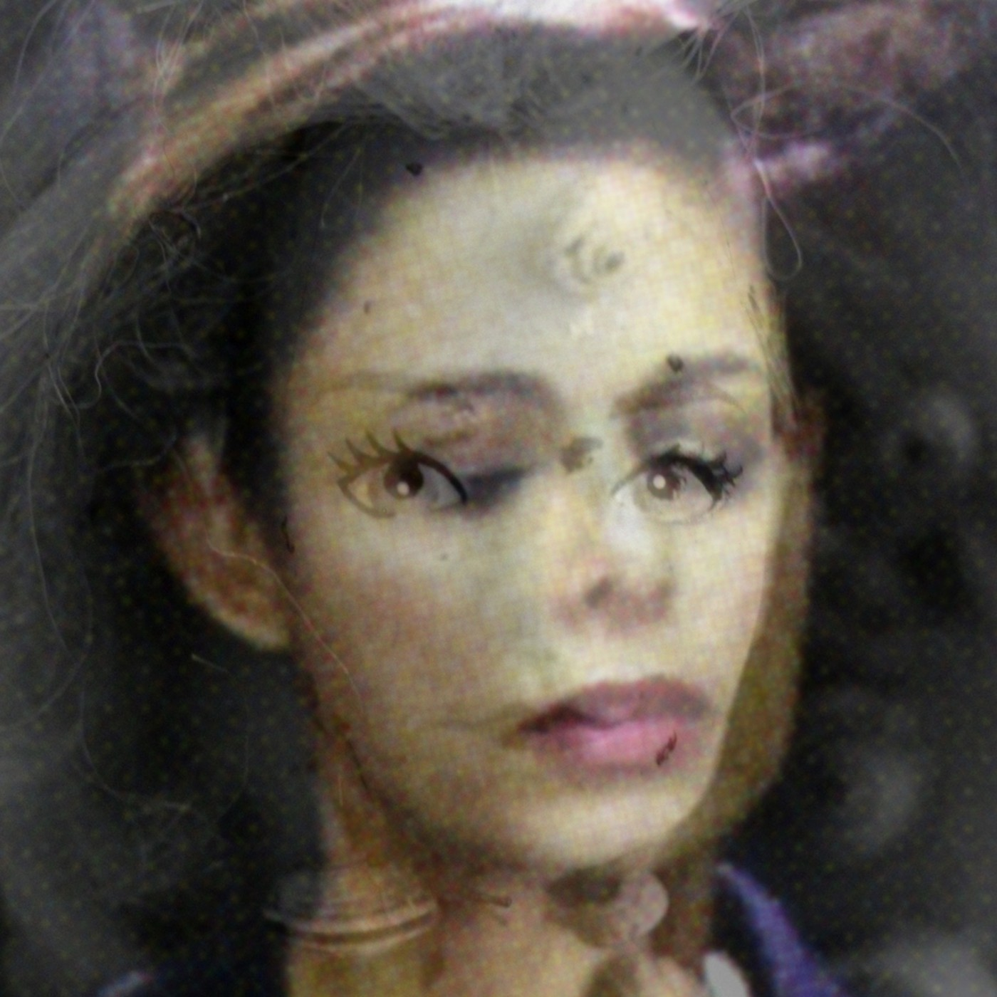 Gabrielle de Montmollin, </span><span><em>Lawyer-Snail Face (lenticular print)</em>, </span><span>2015