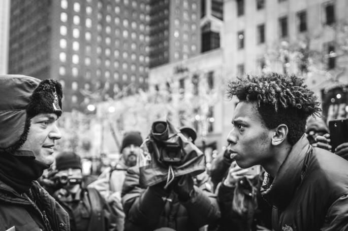Will Mars, </span><span><em>Chicago Protest</em>, </span><span>2015