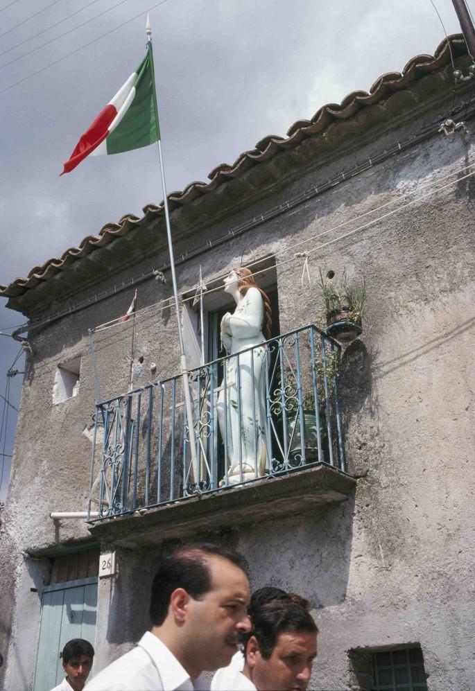 Bruno Mediati, </span><span><em>San Rocco Procession</em>, </span><span>1990