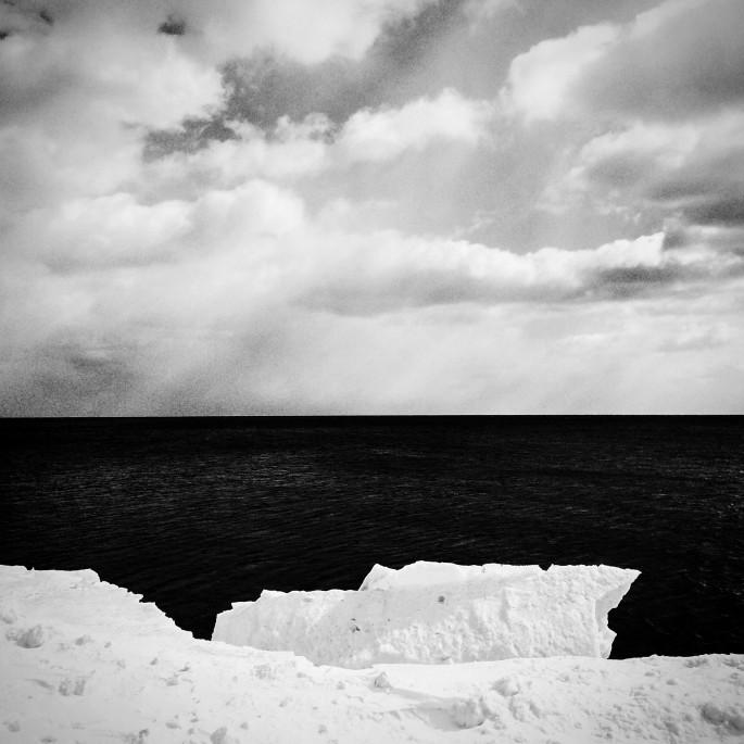 Krista White, </span><span><em>Ice Floe</em>, </span><span>2015