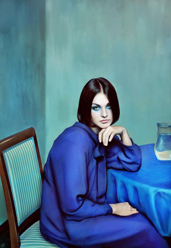 © Andrey Yakovlev &amp;amp; Lili Aleeva, </span><span><em>Blue Girl</em>, </span><span>2011