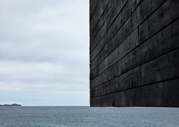 "Ned Pratt, </span><span><em>Modern Architecture, Fogo</em>, </span><span>2015. Chromogenic print, 33 x 46.25""."