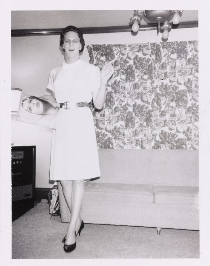 Unknown American, </span><span><em>Beverly Holding a Copy of Vogue</em>, </span><span>1960's. Gelatin Silver Print, 10.8 x 8.5 cm. Collection of the Art Gallery of Ontario. Purchase, with funds generously donated by Martha LA McCain, 2015. © Art Gallery of Ontario