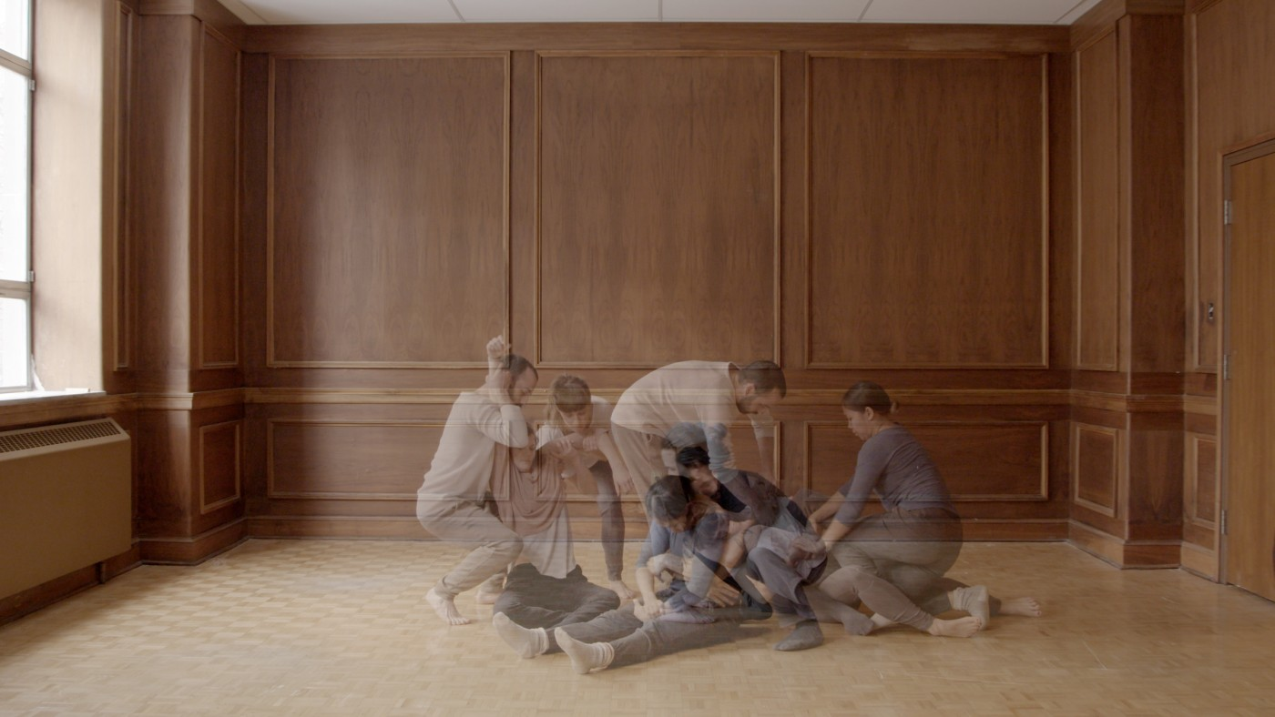 Annie MacDonell, </span><span><em>Holding Still // Holding Together</em>, </span><span>(video still), 2016. Multi-channel installation.   © Annie MacDonell. Courtesy of the artist.