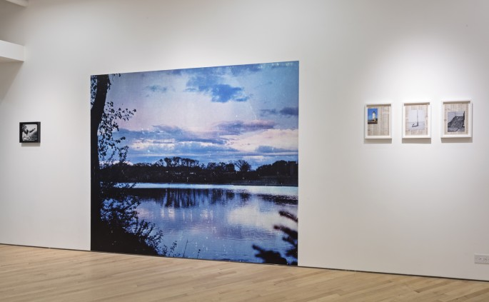 Installation view of Christian Patterson, </span><span><em>Bottom of the Lake</em>, </span><span>Photo: Toni Hafkenscheid