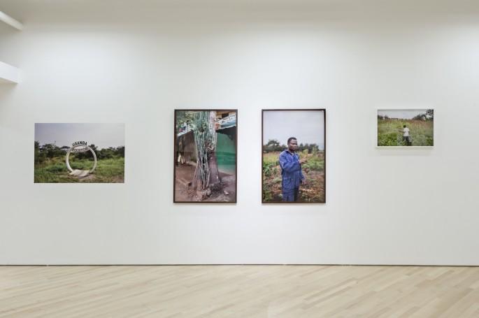 Installation view of Johan Hallberg-Campbell, </span><span><em>Nzirambi</em>, </span><span>2013