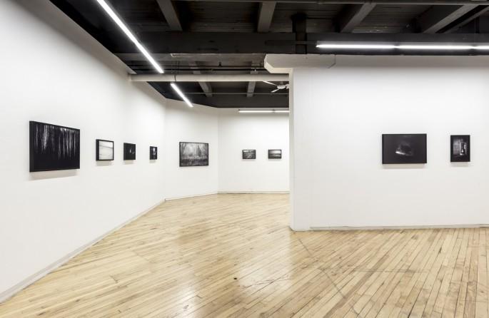 Installation view of Ian Willms, </span><span><em>The Road to Nowhere</em>, </span><span>Photo: Toni Hafkenscheid