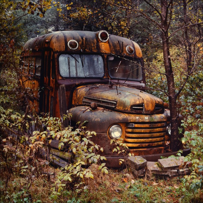 Jeff Powis, </span><span><em>The School Bus</em>, </span><span>1989
