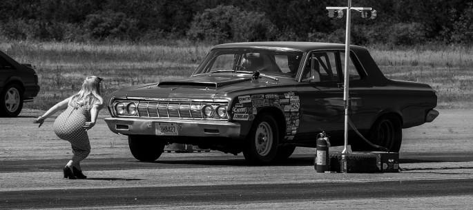 Michael Lindon, </span><span><em>Girl and Car</em>, </span><span>2016