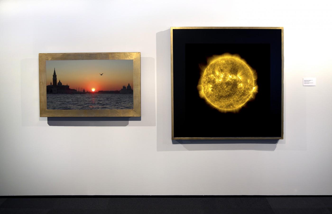 Dan Hudson, </span><span><em>Illusion of the Sun Going Down (2 channel video)</em>, </span><span>2015