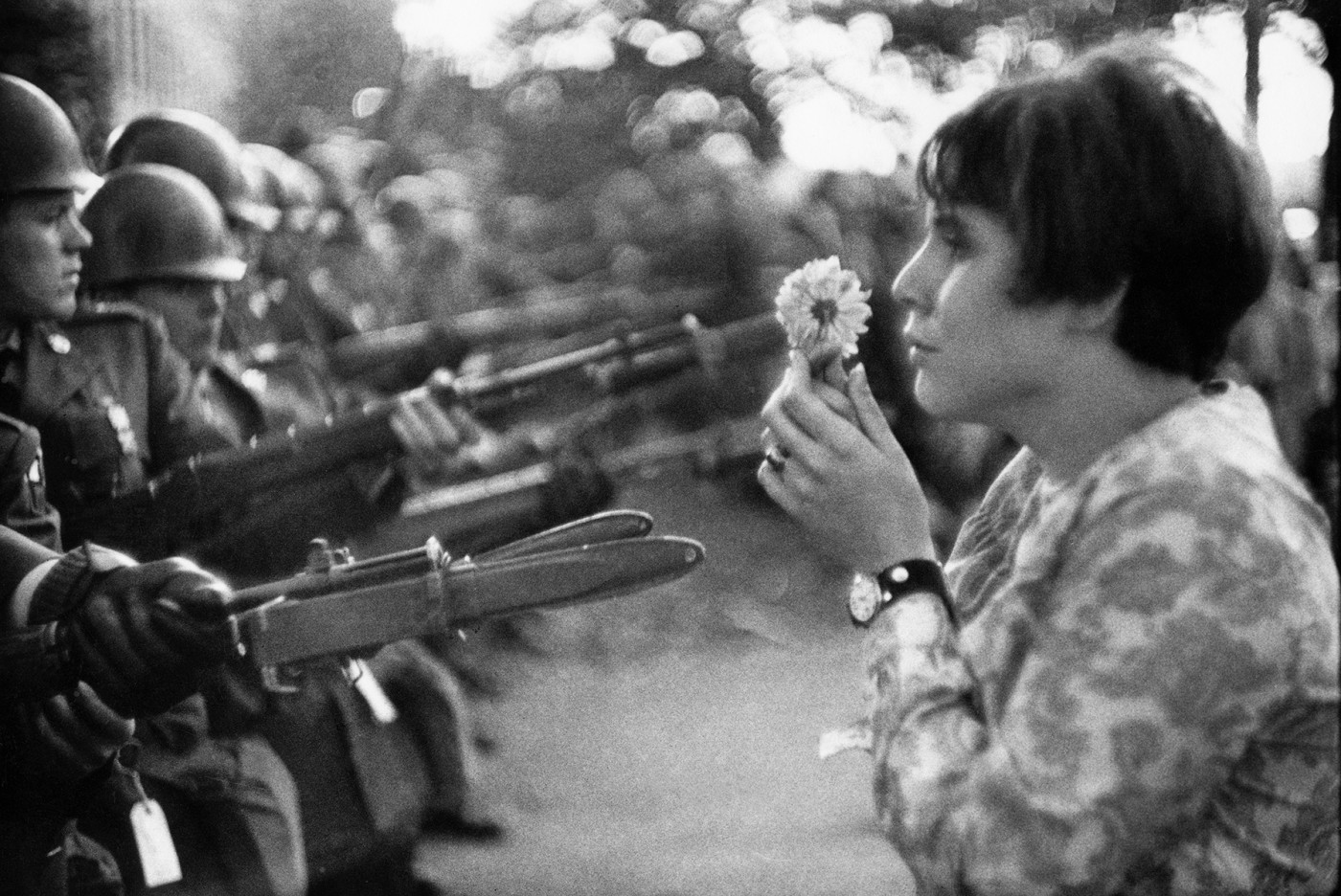 <em>Peace march against the Vietnam War</em>, </span><span>1967.