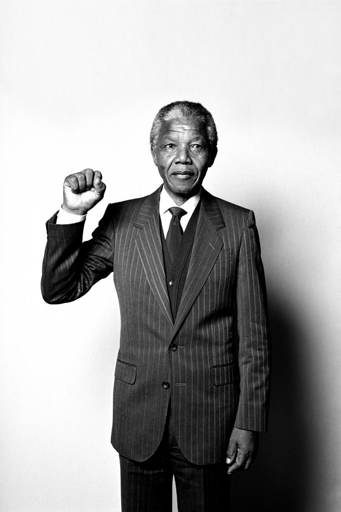 Hans Gedda, </span><span><em>Nelson Mandela</em>, </span><span>1990.