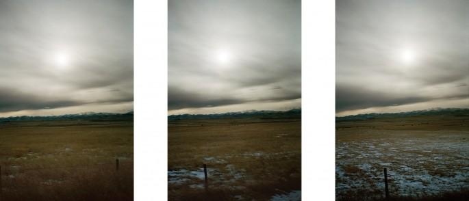 Seth Fluker, </span><span><em>Cowboy Trail Triptych</em>, </span><span>2015. Courtesy of the artist.
