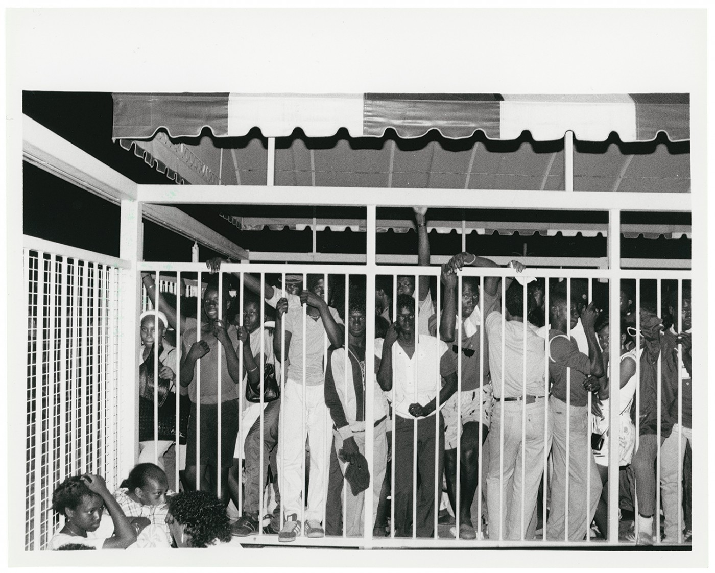 Al Peabody, </span><span><em>Not Soweto</em>, </span><span>1985. Silver gelatin print, 8x10&quot;. © Al Peabody